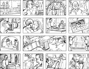 No Second Storyboard