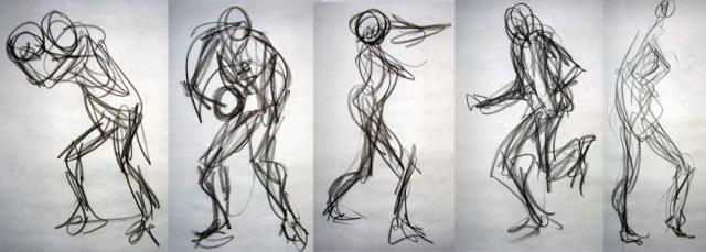 Gesture drawing | http://lomelindi88.deviantart.com/art/Gesture-Drawings-FTW-8D-54987821