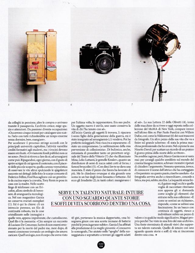 ICON | inserto Panorama del 15 Ottobre 2014