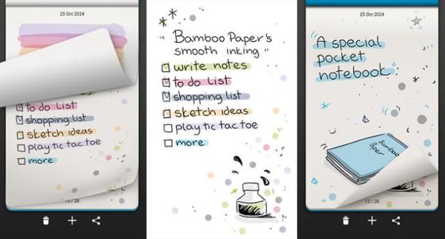 Bamboo Paper Memo