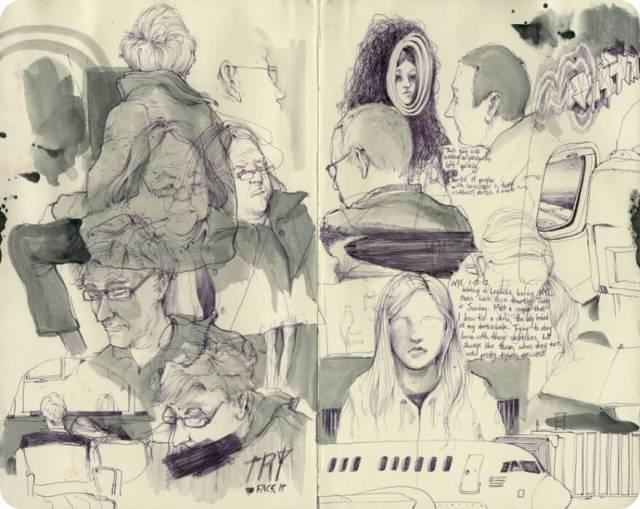 inspirationhut.net | Sketchbook of Pat Perry
