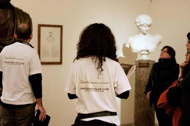 SketchCrawl con guida turistica a Palazzo Altemps