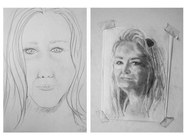 Ingrid prima e dopo