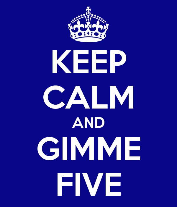 keep-calm-and-gimme-five
