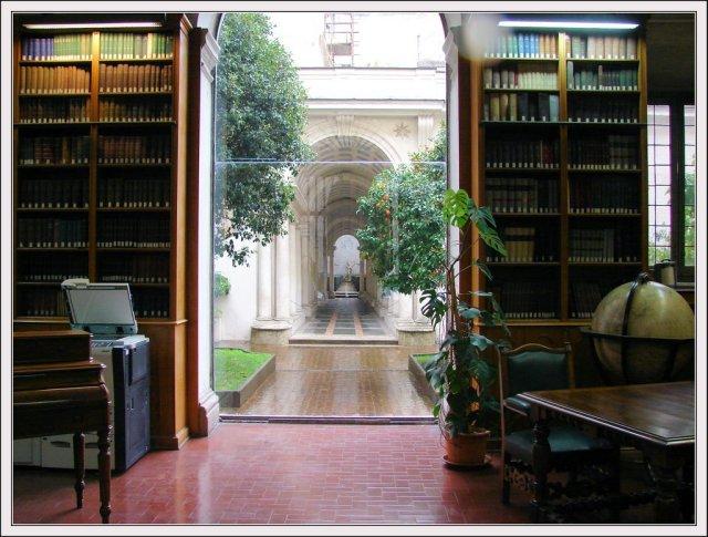 Prospettiva di Borromini, Palazzo Spada, Roma.