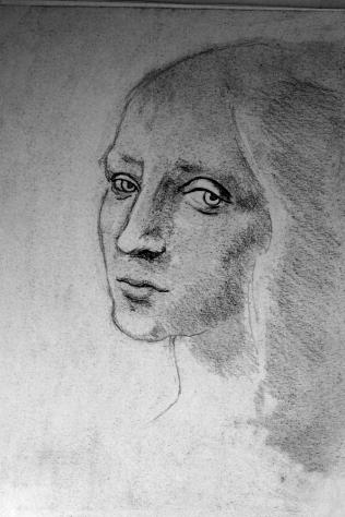 Disegno di uno studente Archivio fotografico 24H Drawing Lab