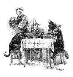 Carlo Chiostri, Pinocchio, il Gatto e la Volpe al Gambero Rosso, 1901.