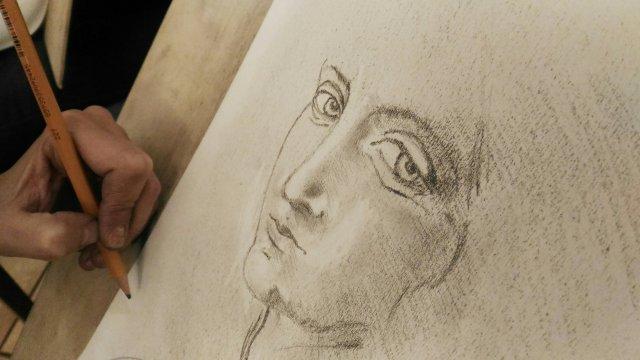 Un disegno dal corso 24H Drawing Lab