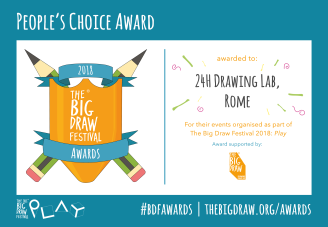 24H Drawing Lab premiato a The Big Draw